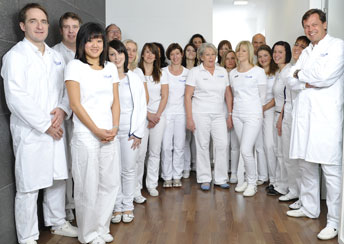 Team of orthopedic surgeons in Germany